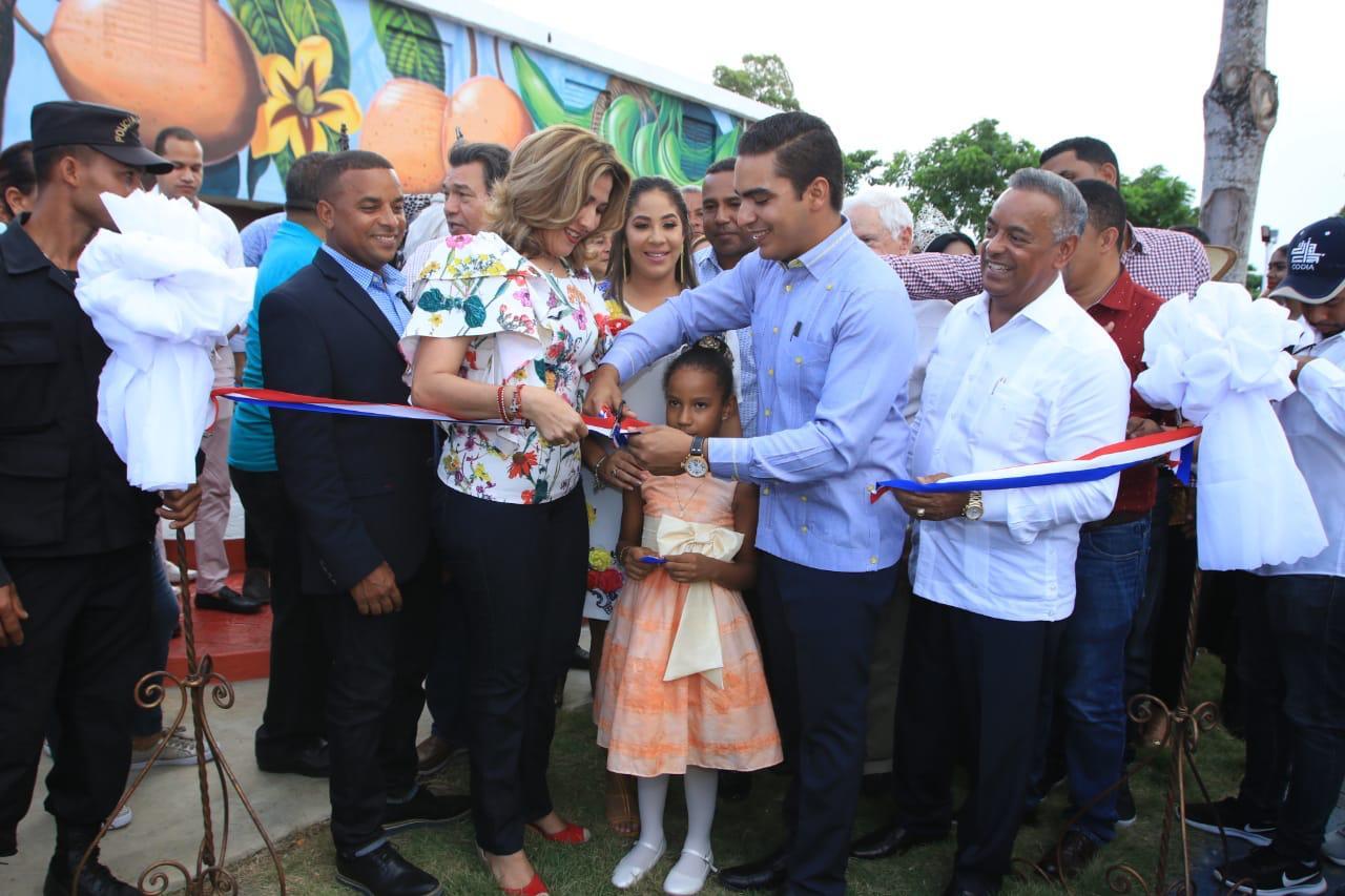 Alcalde deja inaugurado parque Lineal La Jagua