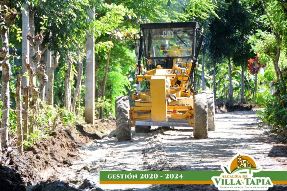 Comunidad de El Tablón y Vuelta Larga camino vecinal